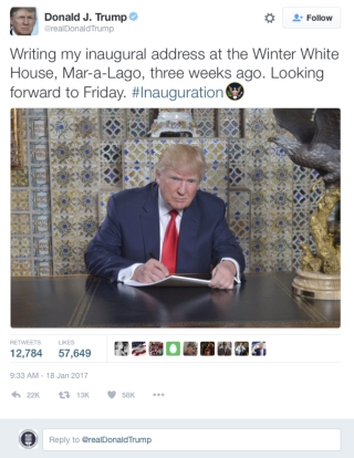 TrumpWriting